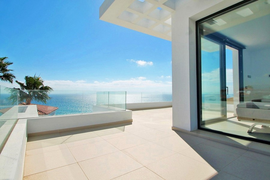 Excellent and brand new Scandinavian design and quality villa just near Estepona  with spectacular p,Spain
