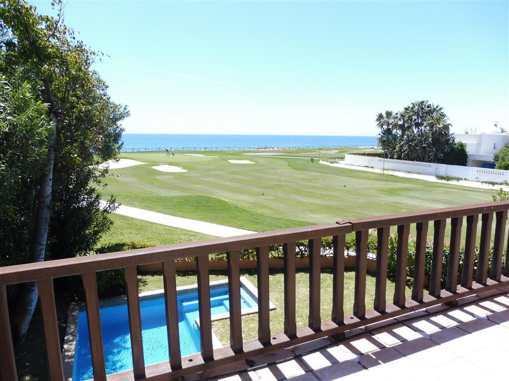 Situated right by the golf course and the sea, a few steps away from the beach and within an exclusi,Spain