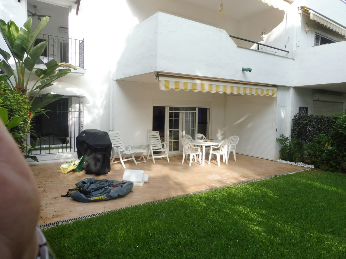 Amazing  high end reformed 4 bedroom duplex  with private garden overlooking the main pool.,Spain