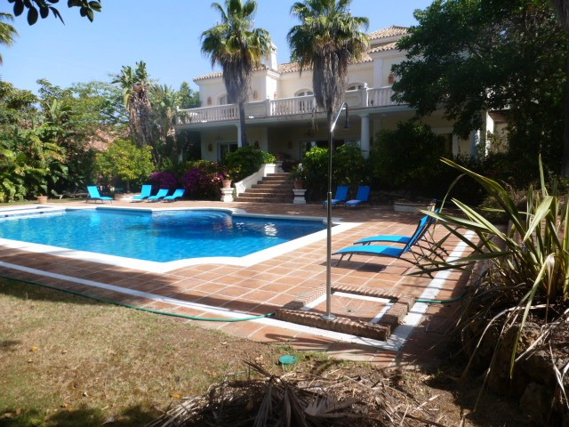 Delightful family home in Marbella best residential location. Just 5 minutes from the city centre ye, Spain