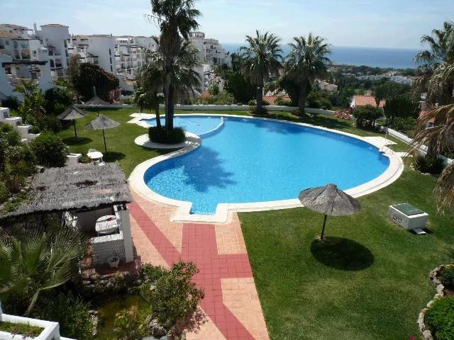 Nice 2 bedroom - 2 bathroom South West facing apartment with panoramic sea views from the spacious t,Spain