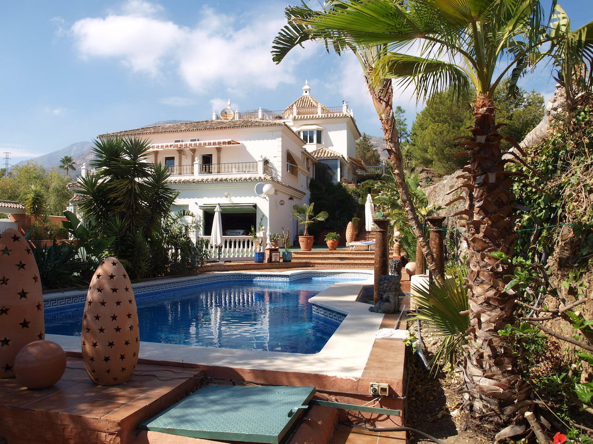 A charming four bedroom, four bathroom villa, built on three storeys with a huge basement included, ,Spain