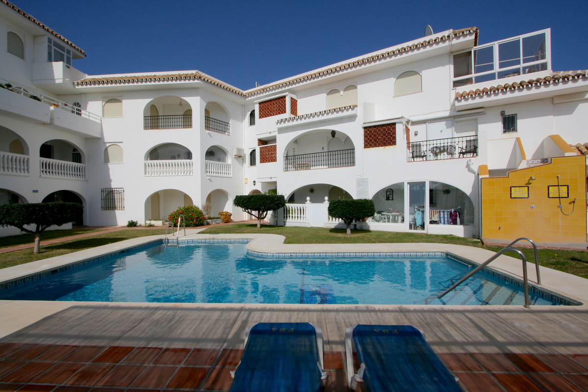 This charming ground floor apartment features two spacious bedrooms, two bathrooms, a beautiful fitt, Spain