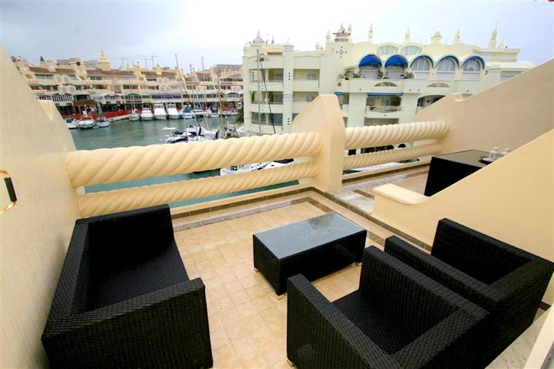 Excellent two bedroom, two bathroom apartment in Benalmadena Marina with lovely views to the sea and,Spain