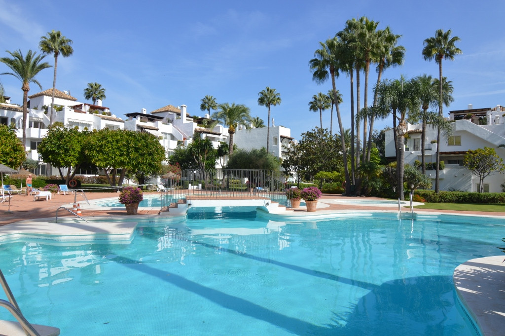 Estepona Beach front complex, this fantastic duplex penthouse is located in one of the most beautifu,Spain