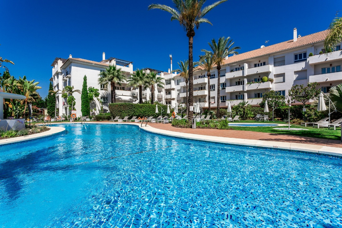 Nueva Andalucia, this top floor south facing  apartment is located in a well established residential,Spain