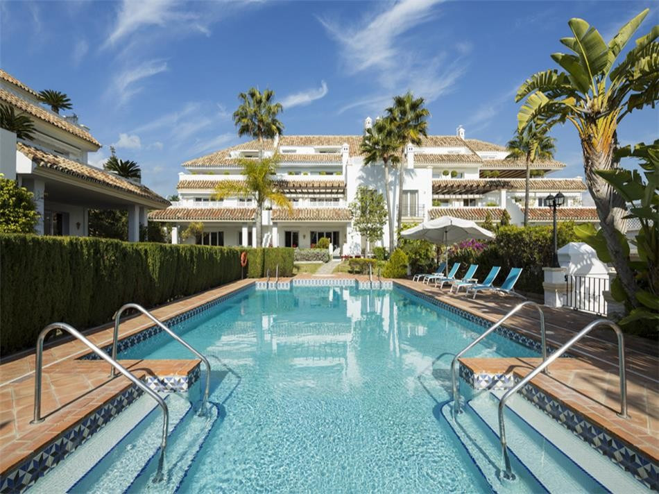 Marbella Golden Mile, a UNIQUE property, (Note for a long rental only available from September 2018),Spain