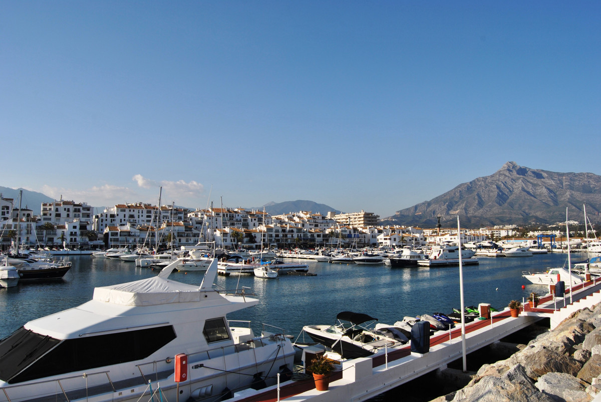 Puerto Banus,  if you want to own a  charming property with special character and with wonderful sea,Spain