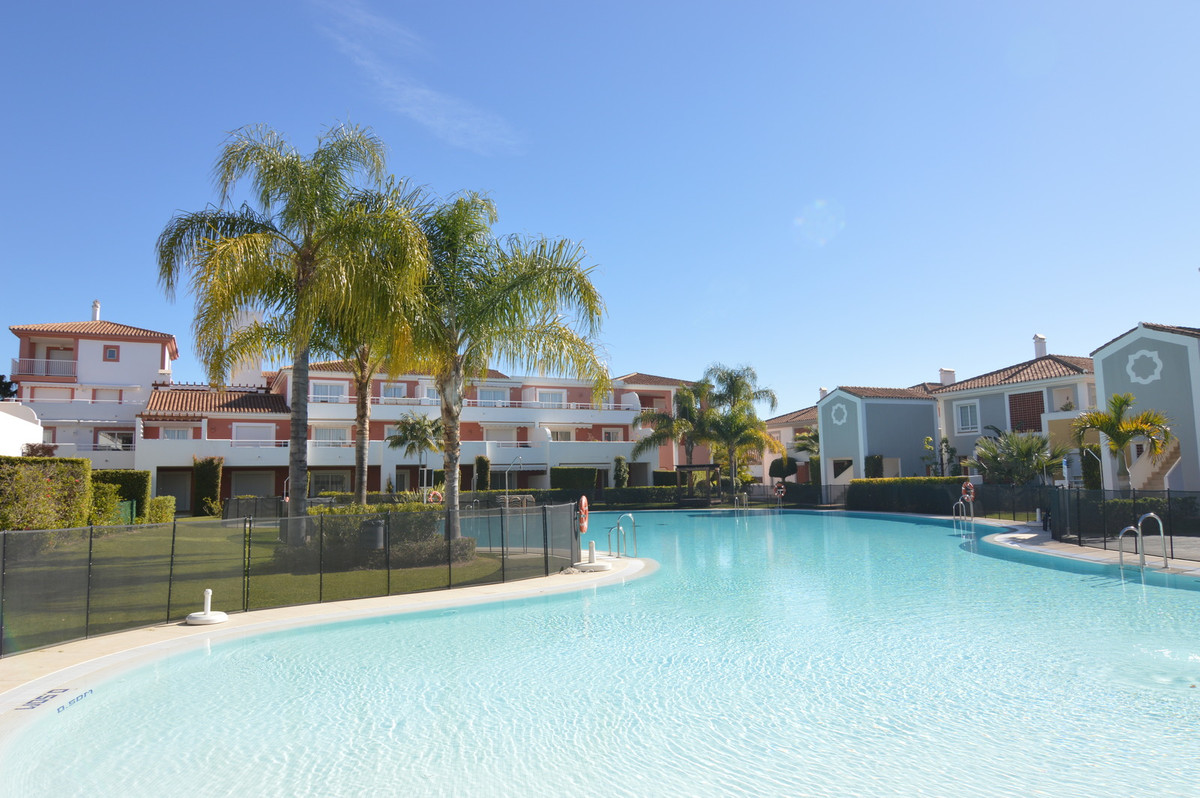 * New Golden Mile, Atalaya, Estepona. Super nice and bright 2 bedroom apartment with garden. This so,Spain