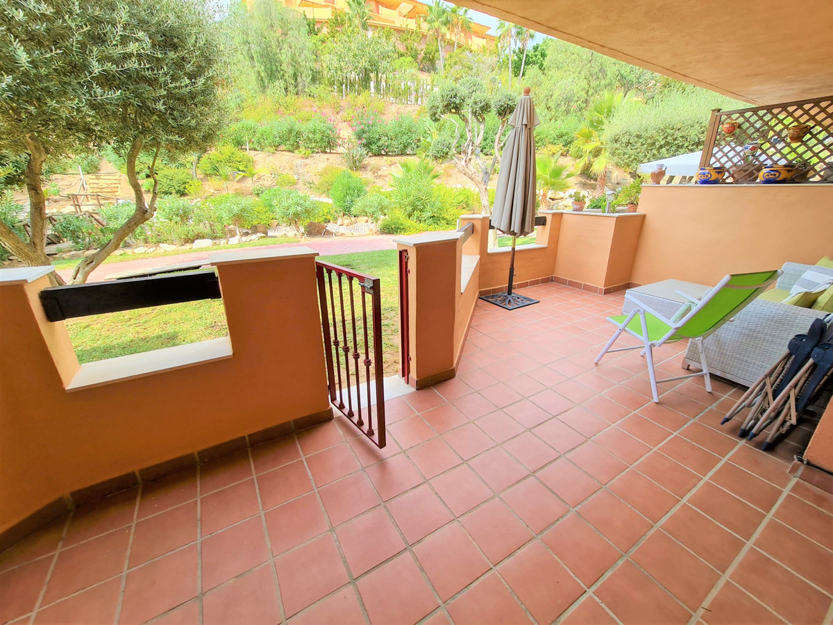 An attractive two bed, two-bathroom apartment in the desirable and gated area of La Reserva de Marbe,Spain