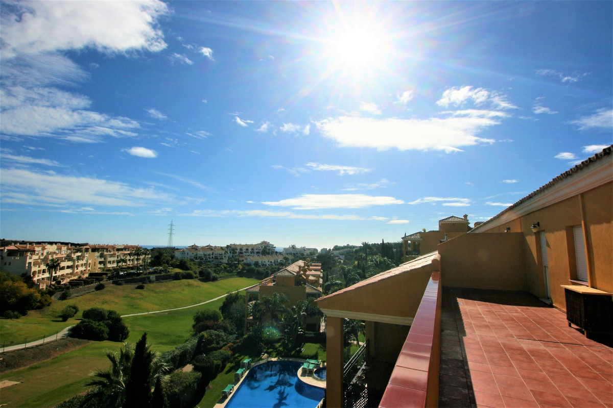 Frontline golf two bedroms penthouse with a magnificent terrace of 120 m2, magnificent views of Mira, Spain