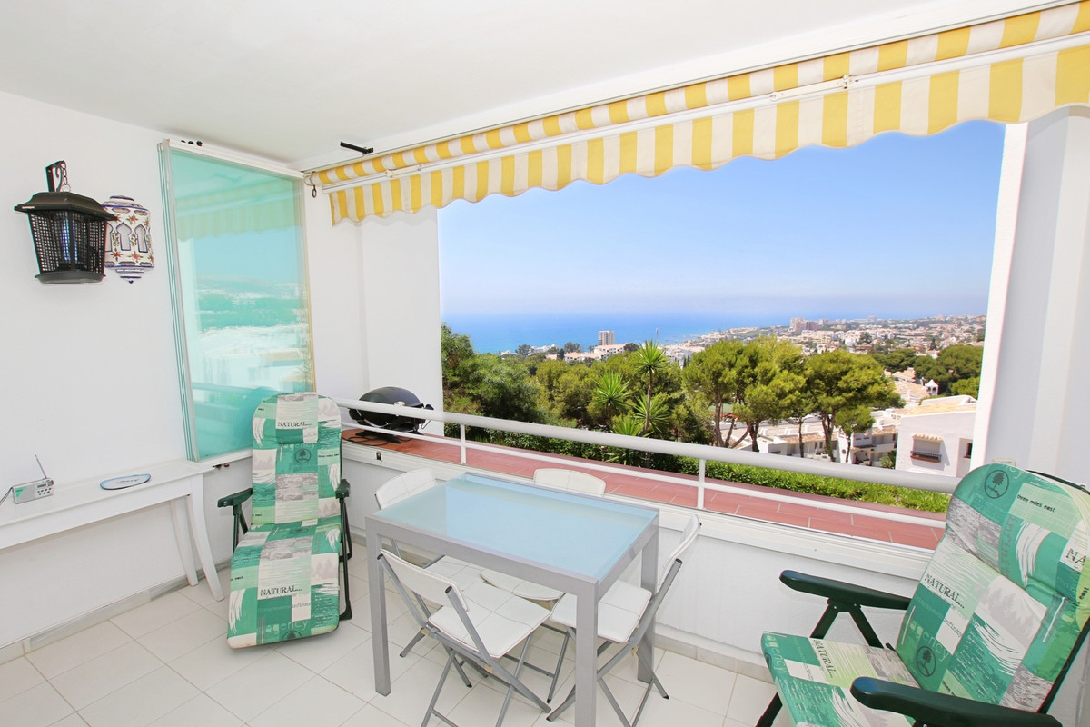 Studio in Miraflores, spectacular sea views, located in one of the best complexes of Miralfores, sur,Spain