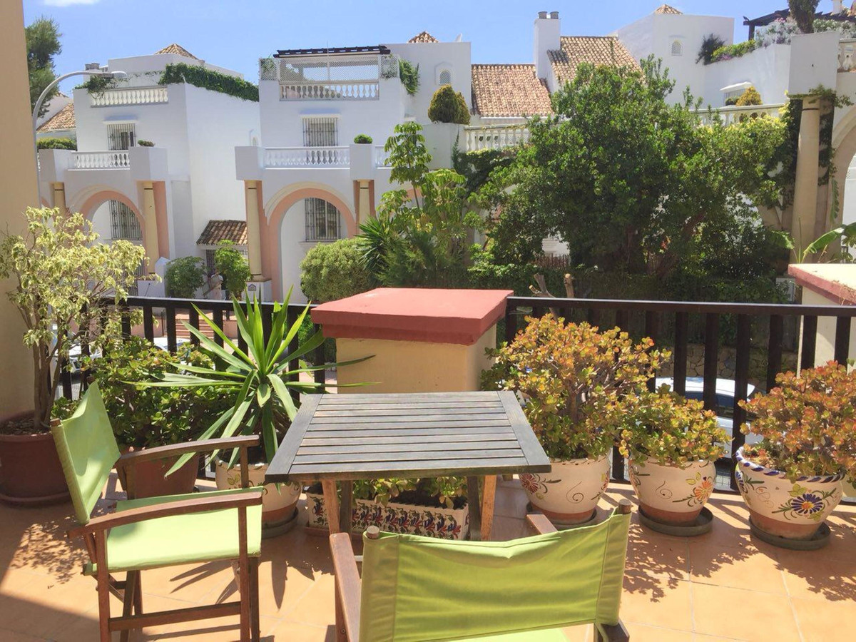 Cozy renovated studio on the beachfront in Romana Playa, Marbella East. The urbanization is located , Spain