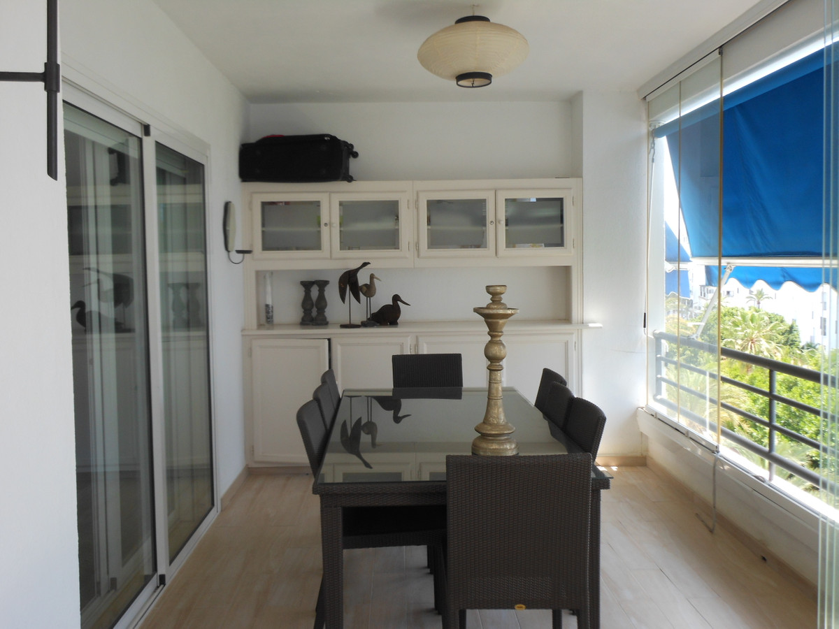 Apartment located in emblematic urbanization of the Marbella brand, in Puerto Banus, five minutes wa,Spain