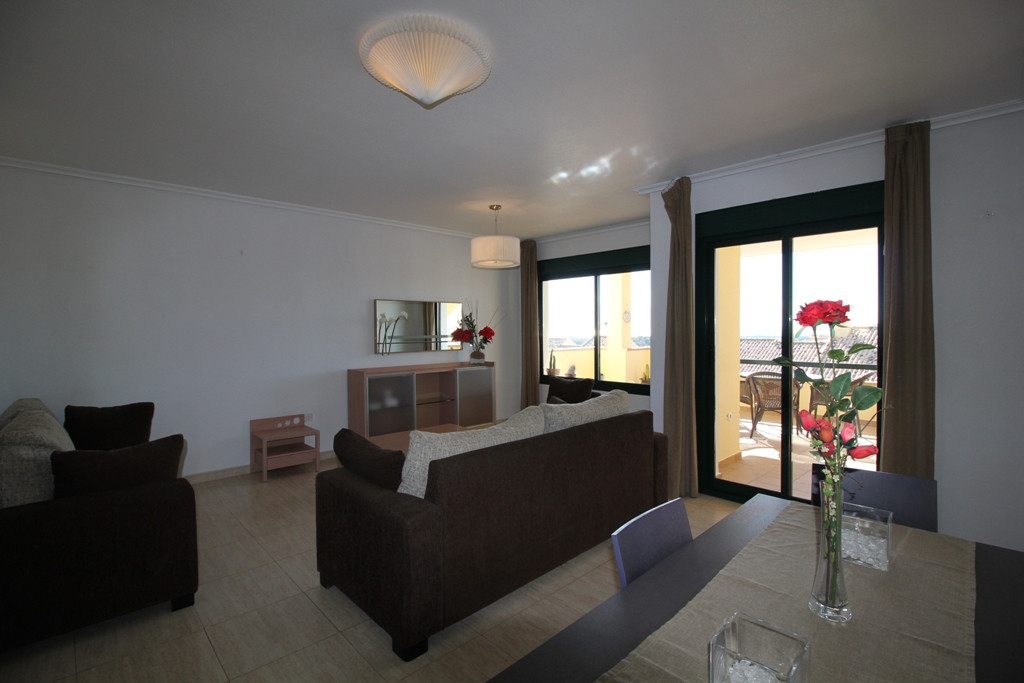 Beautiful spacious 2 Bedroom 2 Bathroom apartment with stunning views across the Golf resort with se, Spain