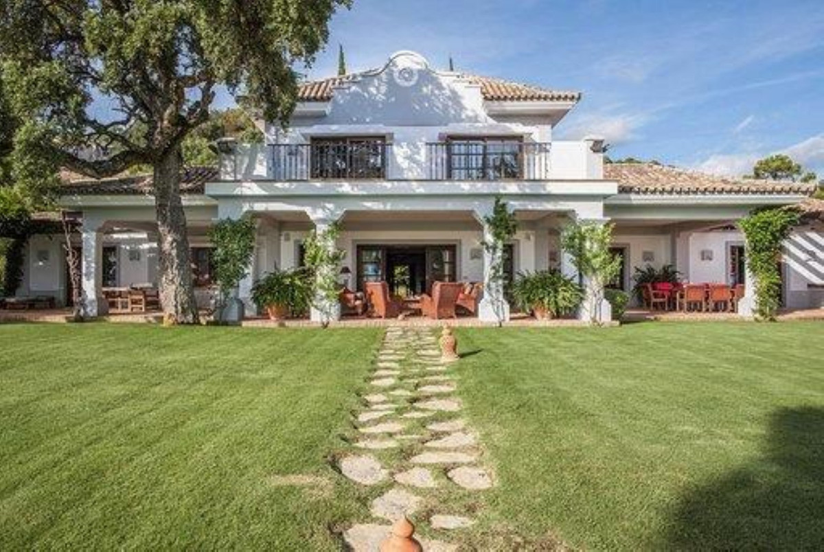 Luxury family villa with large rooms open to splendid mountain views and golf.  With six bedrooms an, Spain