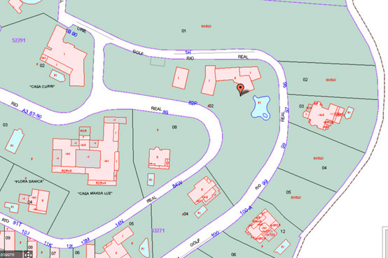 Totally 4.666 m2, which can be divided into 5 plots of 933 m2 in average, with a min. of 800 m2.  Th,Spain