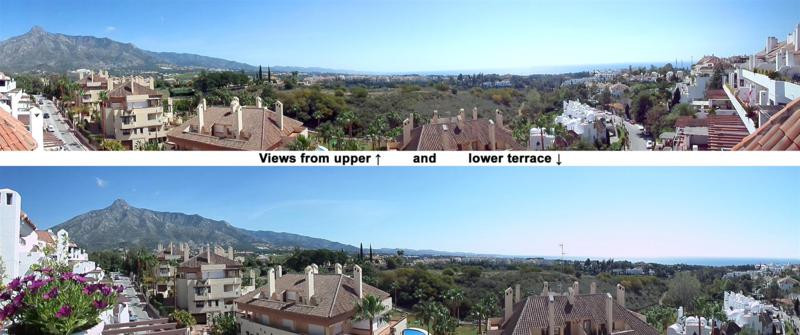 Fantastic 4-bed duplex penthouse in El Coto Real II, Marbella Hill Club, Golden Mile, Marbella. El C, Spain