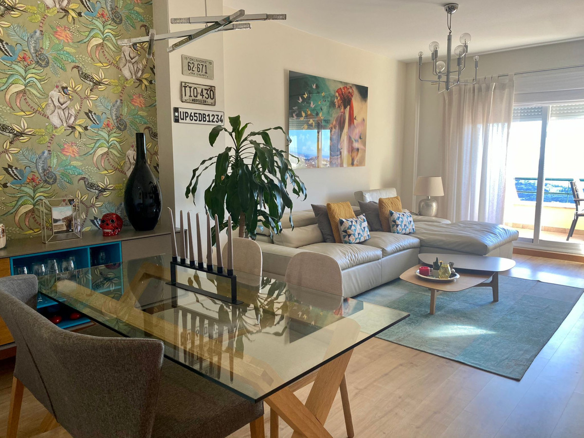 Completely renovated apartment in Benalmadena with sea views  This property has two terraces, with p,Spain