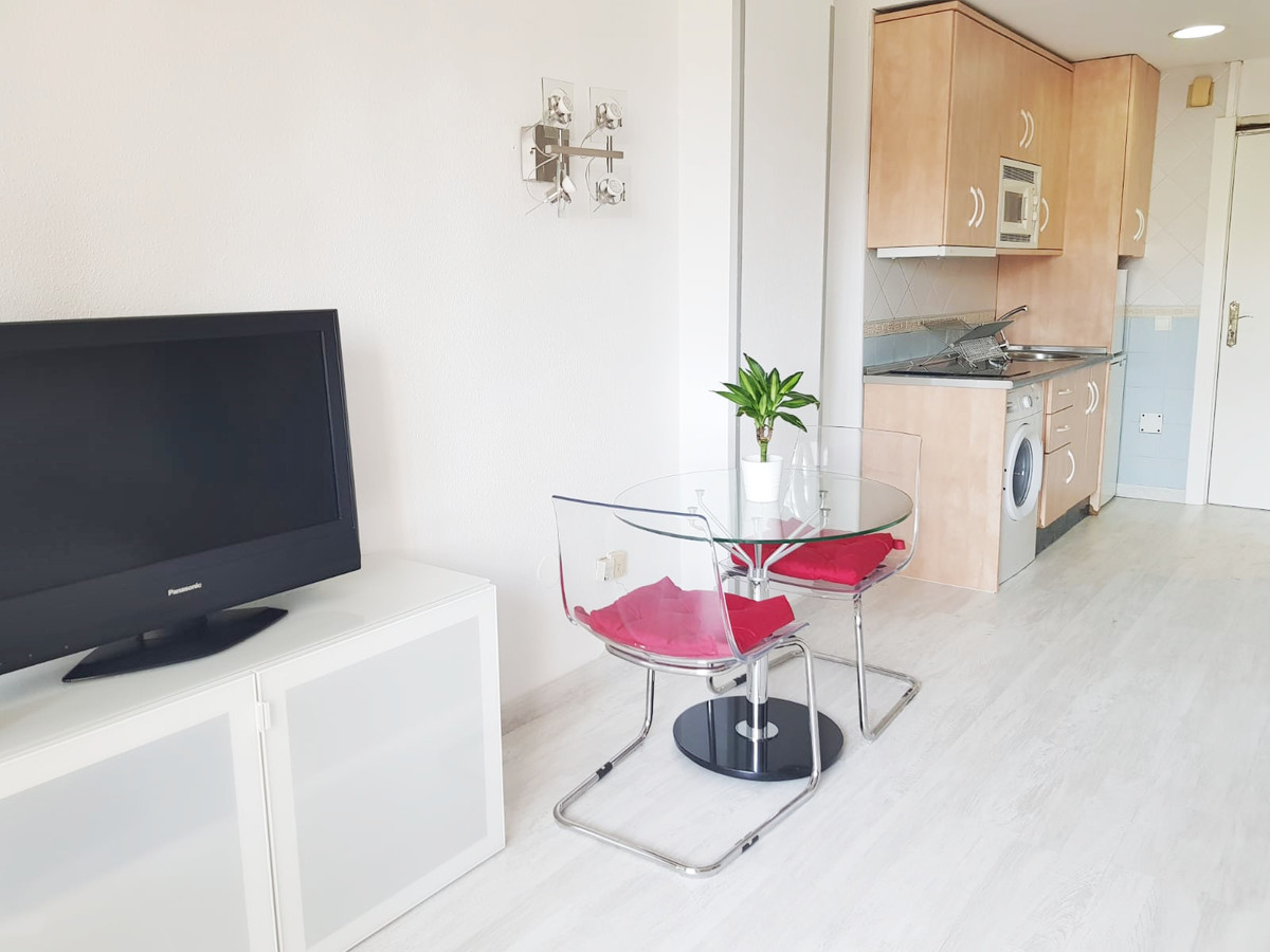 Front line beach studio in one of the most prestigious urbanizations of the Costa del Sol, with one ,Spain
