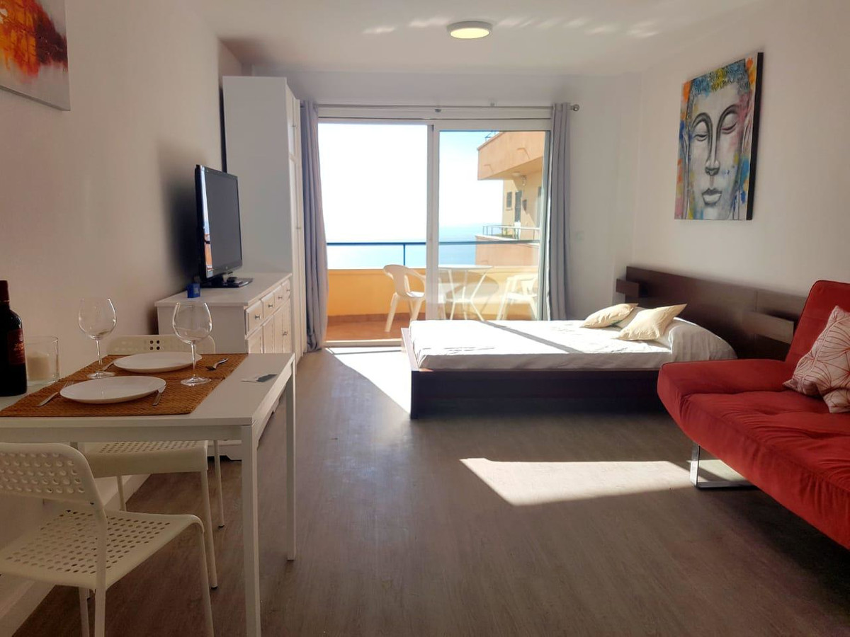 Stunning studio with beautiful panoramic views of the sea. It is perfect as an investment, or as a h, Spain