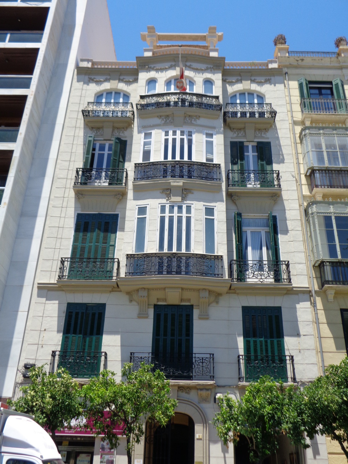 Gorgeous Comercial in the heart of Malaga. Next to Hotel AC Malaga Palacio and the Cathedral. Views ,Spain