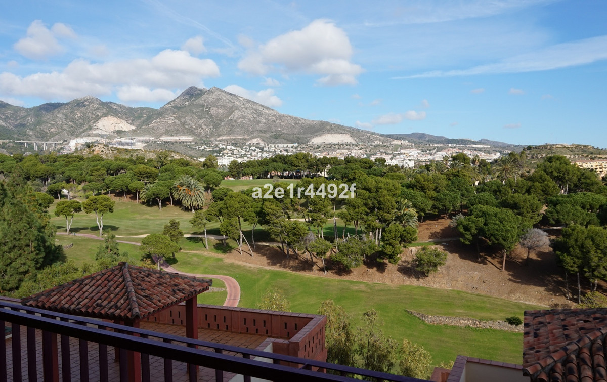 A ground-floor entrance apartment located on the frontline of Torrequebrada Golf, in Benalmadena Cos,Spain