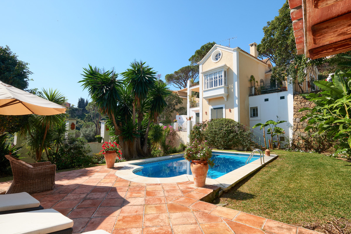VERY CHARMING PROPERTY, SITUATED IN THE HILLS ABOVE SAN PEDRO IN A RESIDENTIAL GATED COMMUNITY.  PAN,Spain