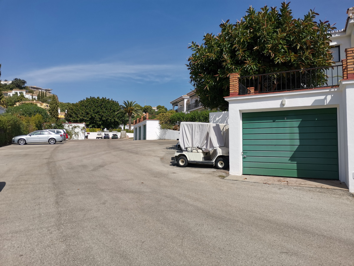 Garage for sale within the exclusive community of El Paraiso Cortes Del Golf situated close to The E, Spain