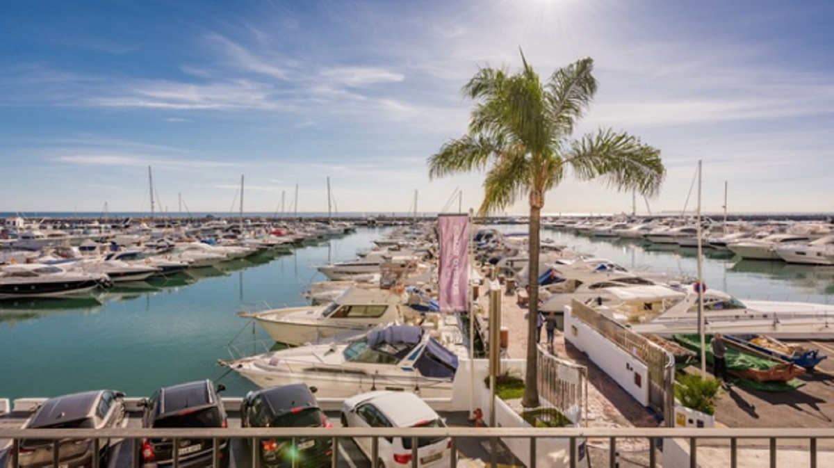 We offer for sale this stylish apartment on the first line of the beach in Puerto Banus.  Located in, Spain