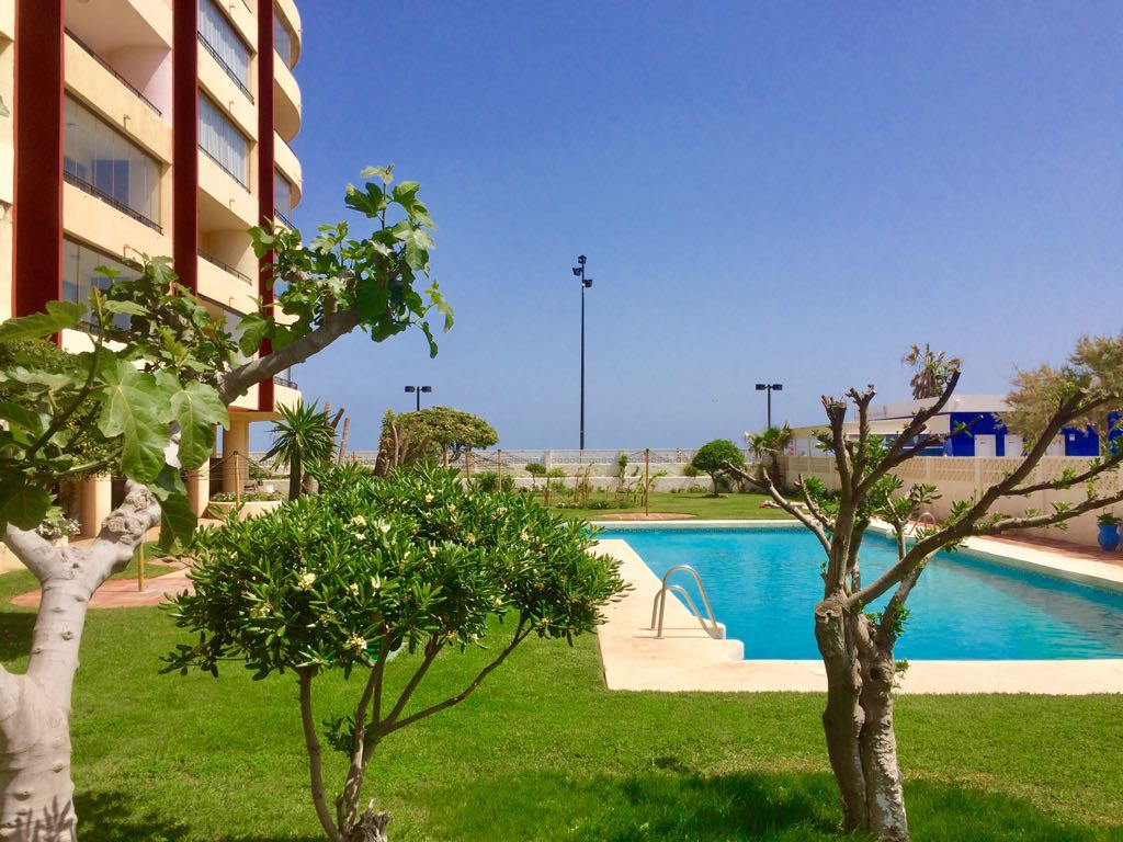 A rare opportunity to purchase a two bedroom apartment right on the seafront of Fuengirola.  This en,Spain