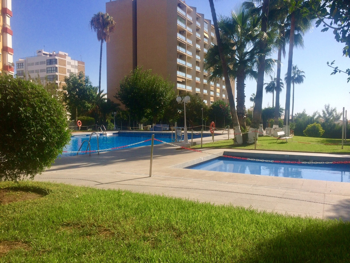 A great opportunity for buyers on a budget to purchase a beachfront apartment in Benalmadena.  The cSpain
