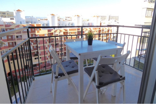 What a bargain this is!  A completely renovated studio close to the beach of Torremolinos.  Finished,Spain