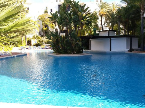 A stylish apartment for sale in Elviria.  Located in one of the most prestigious gated urbanizations,Spain