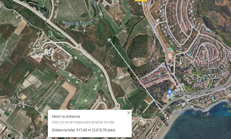 Landeiendom med ruiner Til salgs i Casares R3307597