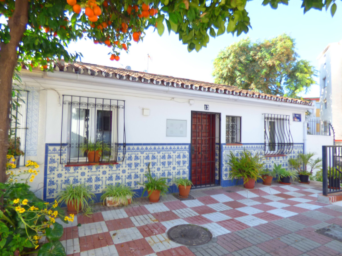 Charming corner house located near the old town of Marbella.  It has been completely renovated so it, Spain
