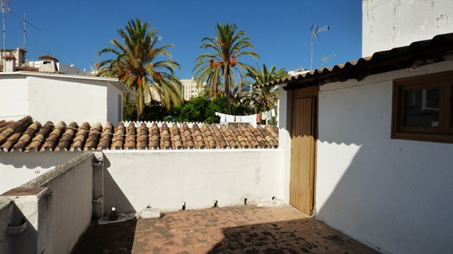 Andalousian townhouse with great character in the heart of Marbella Old Town.  It is built on two fl,Spain