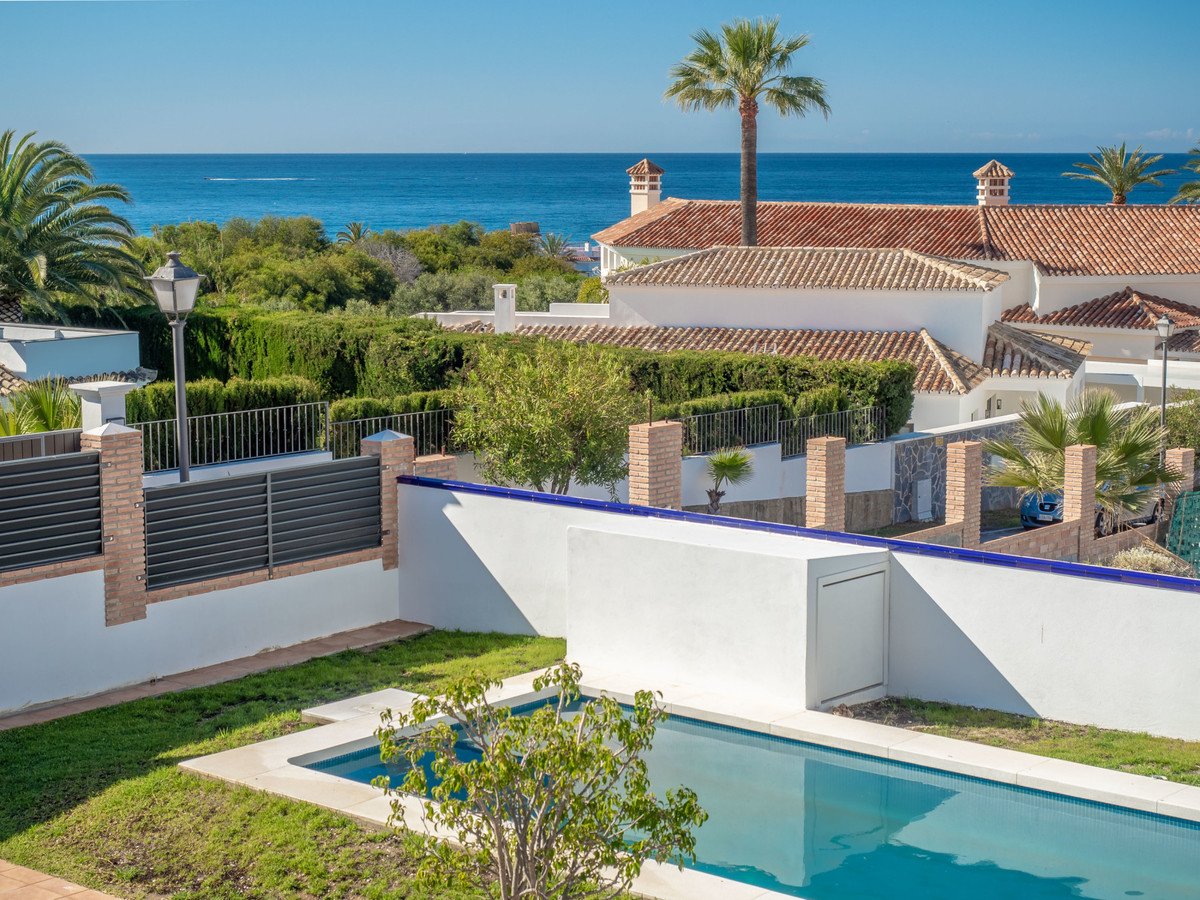Brand new this magnificent villa next to the newly built beach, located in Las Chapas Playa and with,Spain