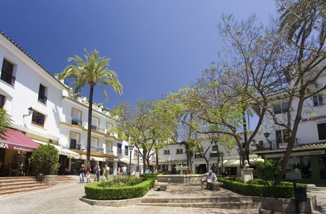 Traditional Andalousian townhouse with charm in the heart of Marbella Old town, a stone's throw,Spain