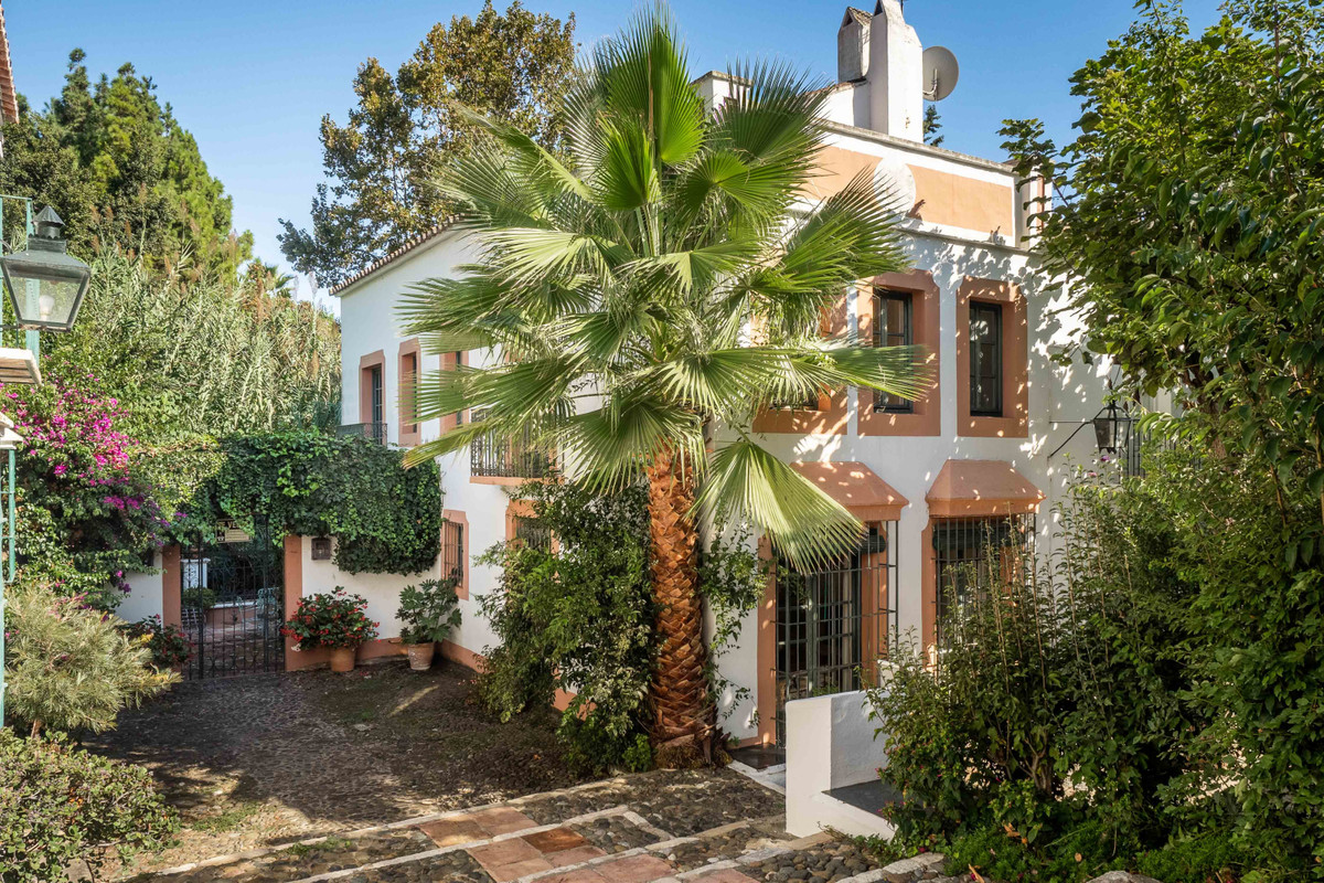 Stunning development of Andalucian-style townhouses and villas, nestled above the town of Marbella. , Spain