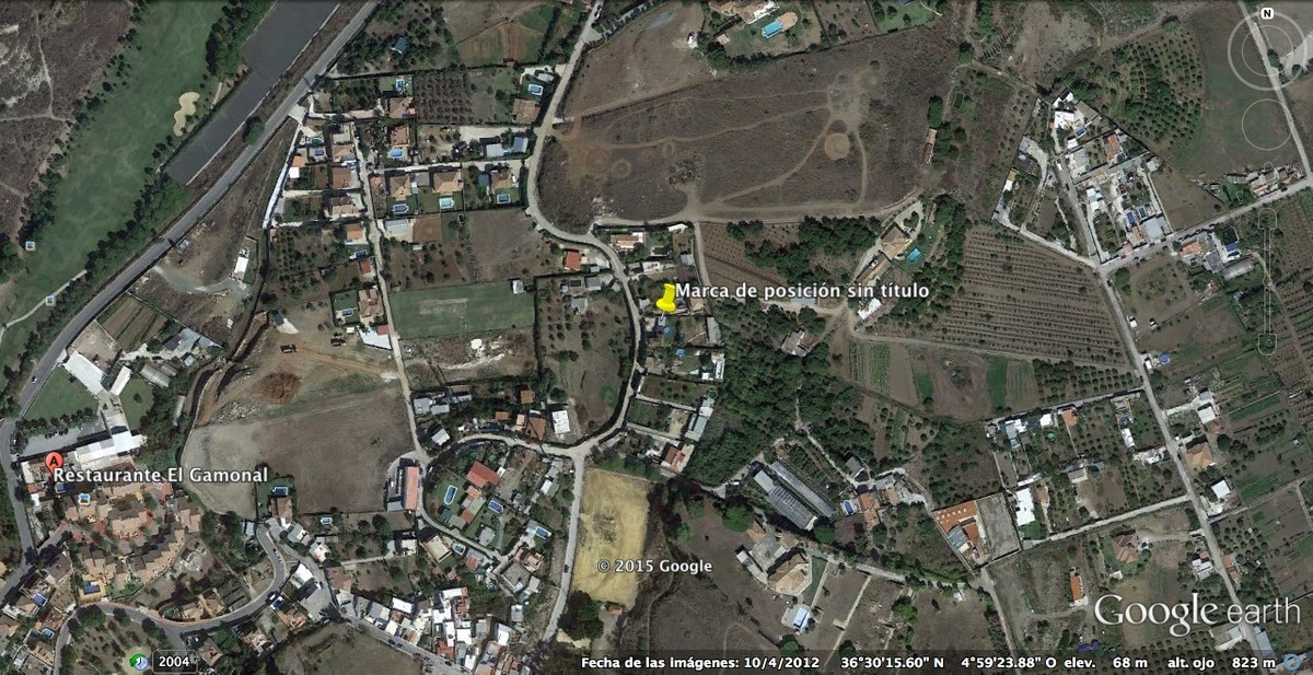 Plot located in San Pedro Alcantara, El Gamonal. It is a land composed of 5 plots without segregatio, Spain