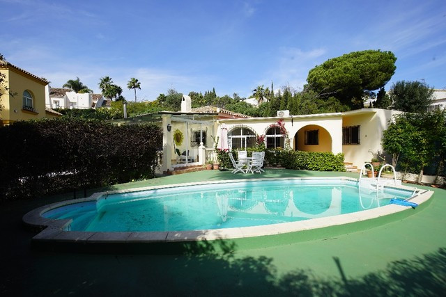 lovely family home in the sought after beachside area of Marbesa  within easy walking distance to on, Spain