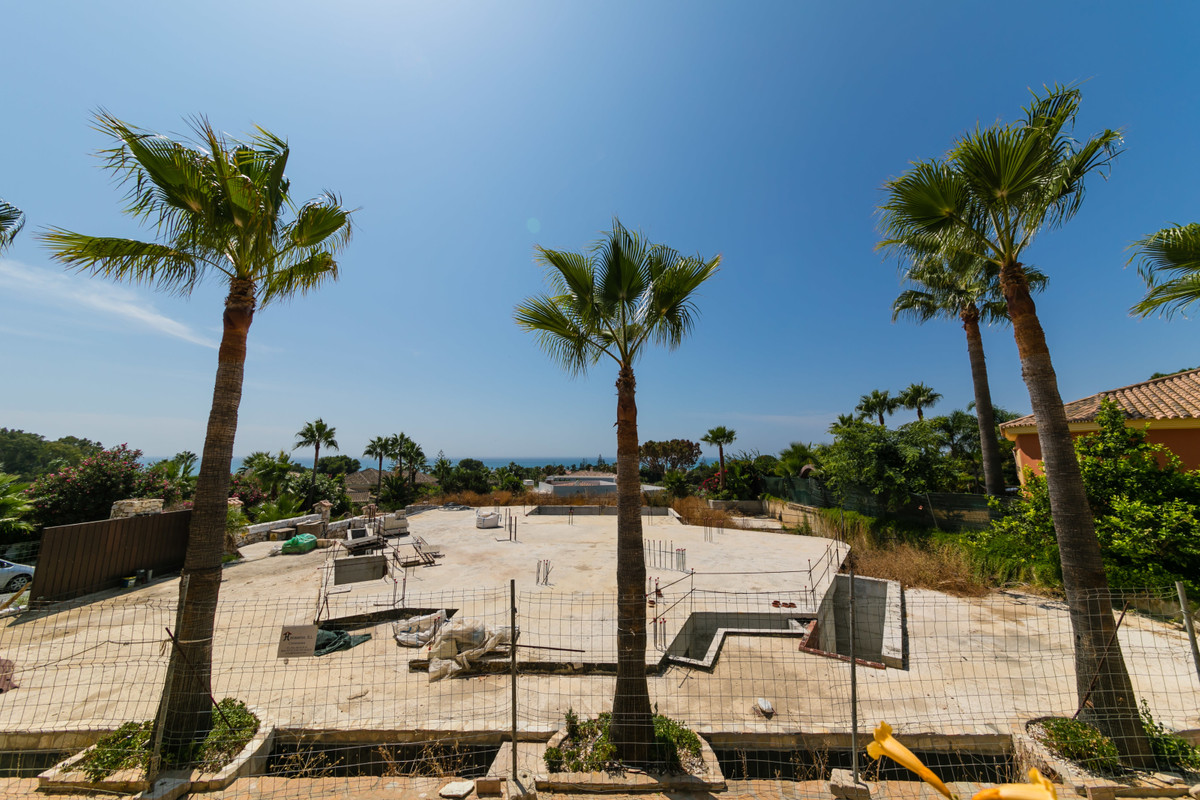 Beachside Marbella East. Stunning plot and project for sale with panoramic sea views located at 300 ,Spain