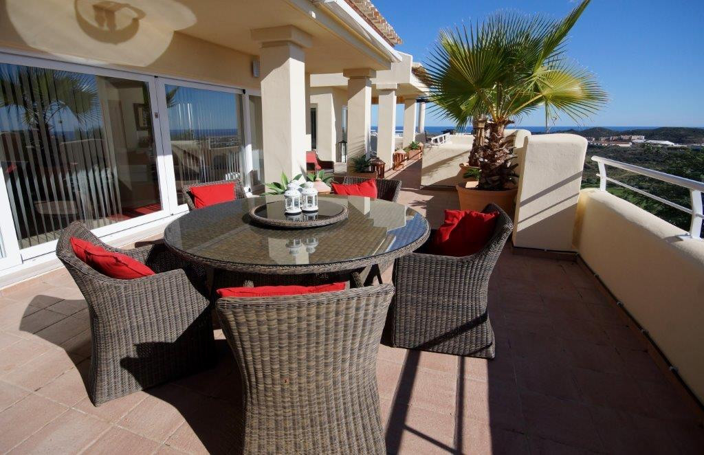This beautiful penthouse is located on a  complex surrounded by a nine hole golf course which is cur, Spain