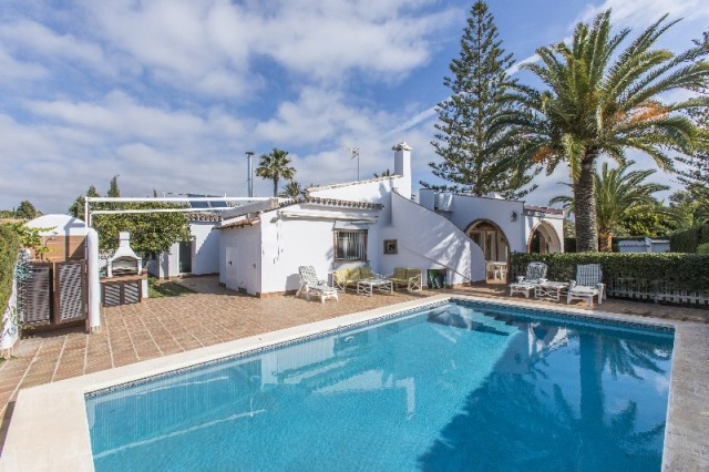 Location, location, location. Fabulous 5 bedroom villa within 200 metres from one of the best beache,Spain