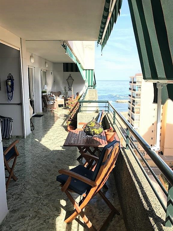 Fantastic penthouse in Los Boliches, second line beach, with big west facing terrace on fist level a,Spain
