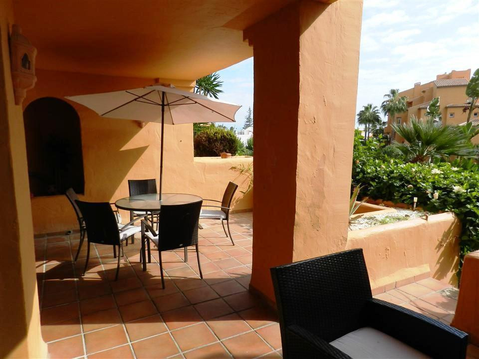 In the luxurious urbanization in first line of beach, in the sector of the Duchess, beautiful ground,Spain