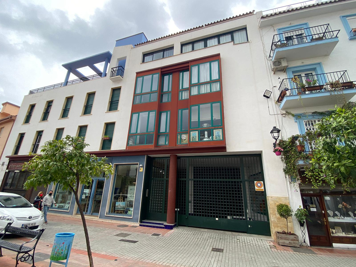 Two bedroom duplex penthouse renovated in the center of Marbella in the emblematic old town a few me,Spain