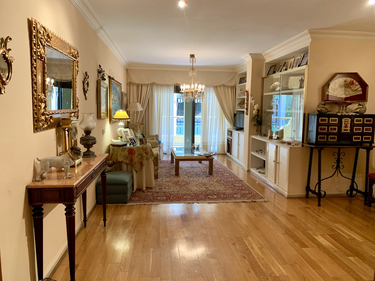 A very spacious apartment in the heart of Marbella town, only a few steps to the Seafront promenade ,Spain