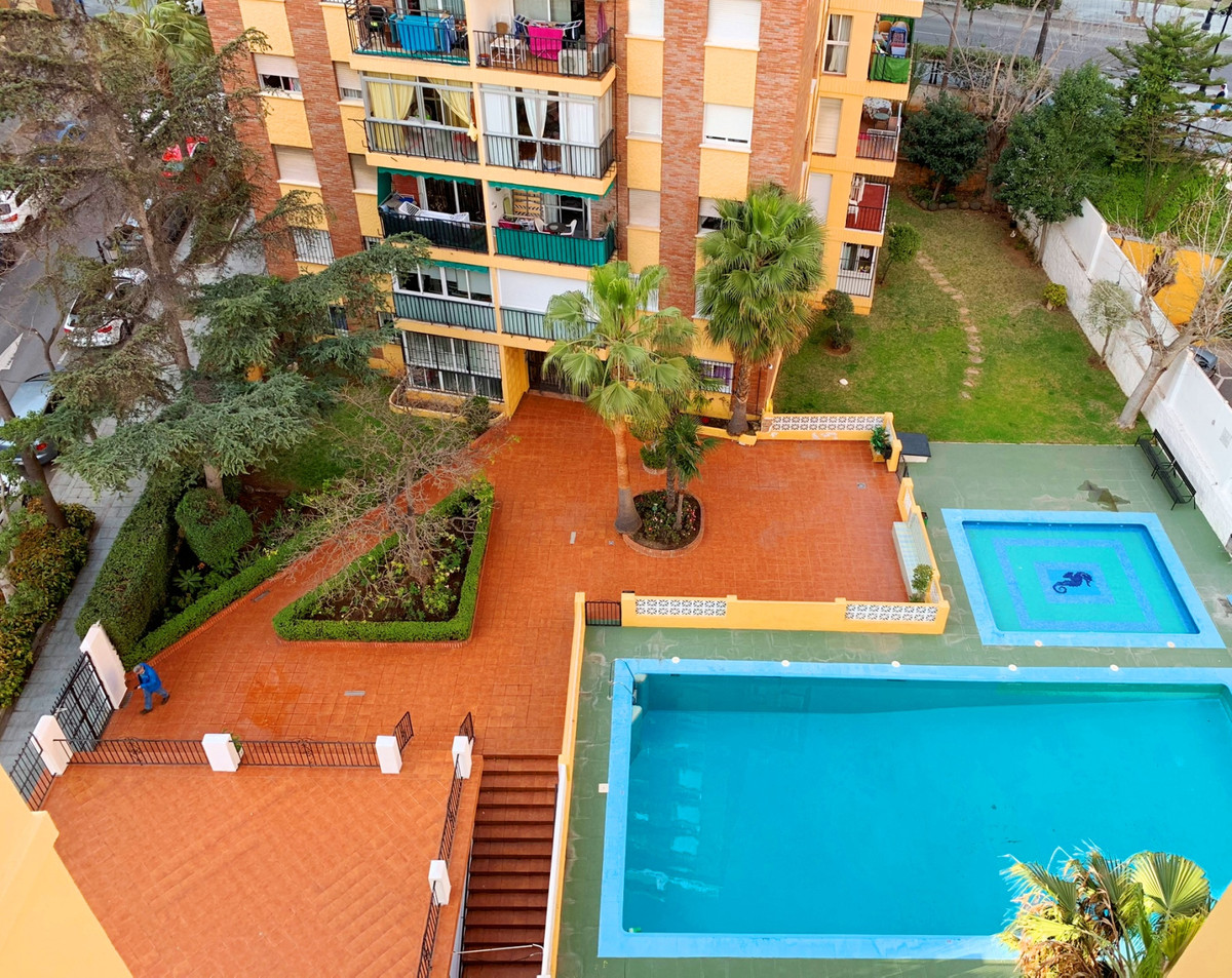 Well located 2 bed apartment in the center of Marbella, with community pool and possibility to refor, Spain